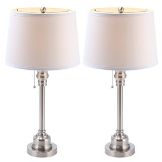 Link to CO-Z Modern 26-Inch Metal Desk Lamp in Brushed Steel Finish, Set of 2 - N/A Similar Items in Table Lamps