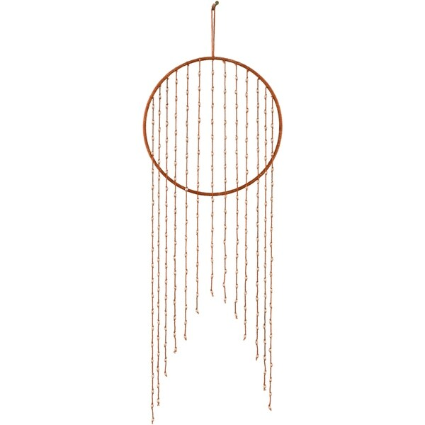 """Dimitra 12-inch Beaded Dreamcatcher - 12"""" x 30"""". Opens flyout."""