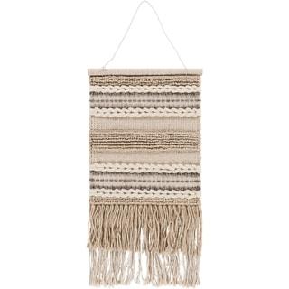 "Kashvi Hand-Woven Textured Wool 17"" x 23"" Tapestry - 17"" x 23"""
