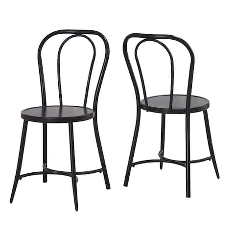 Callao Bistro Side Chair by Greyson Living (Set of 2) - N/A