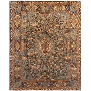 Handmade One-of-a-Kind Kashmar Wool Rug (Iran) - 9'9 x 12'2