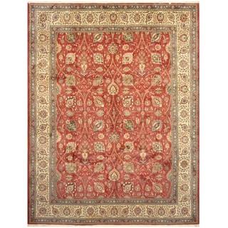 Handmade Tabriz Wool Rug (Iran) - 10' x 13'