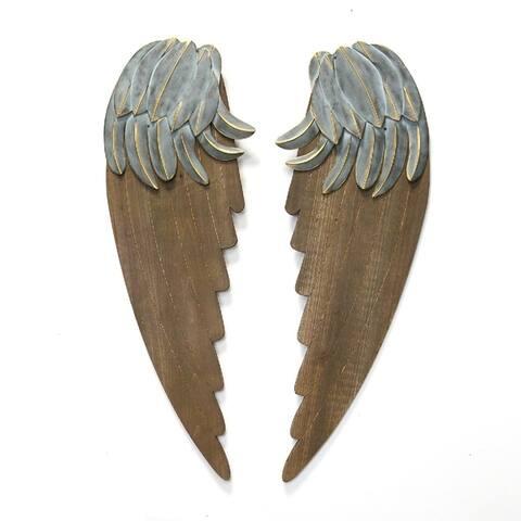The Gray Barn Rustic Angel Wings