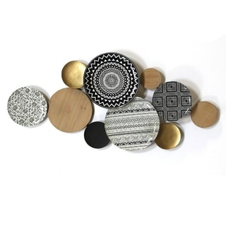 Link to Porch & Den Boho Plates Wall Decor Similar Items in Decorative Accessories