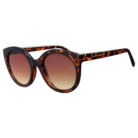 Vernier Womens Tortoise SOPHIA Round Cat eye Sunglasses