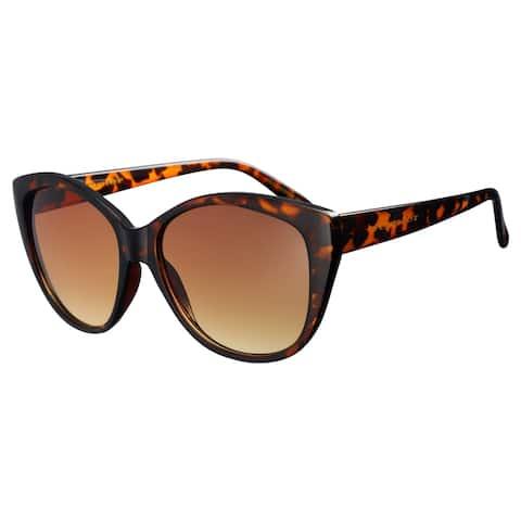 Vernier Womens Tortoise OLIVIA Ladies Cat Eye Fashion Sunglasses