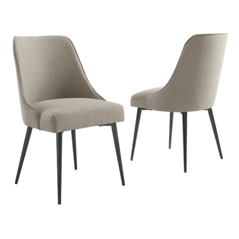 Orrick Upholstered Dining Chair by Greyson Living (Set of 2)