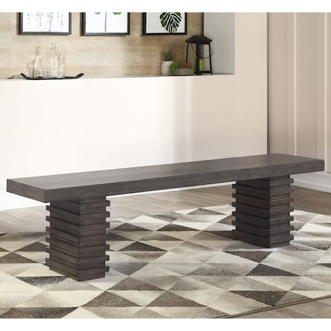 Milano Contemporary Dining Bench by Greyson Living - N/A