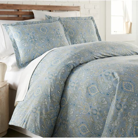 Vilano Plush All Seasons Paisley Grace Down Alternative 3-piece Comforter