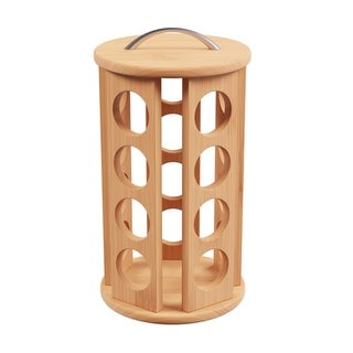 20 Count Bamboo Single-Serve Coffee Pod Carousel by Classic Cuisine