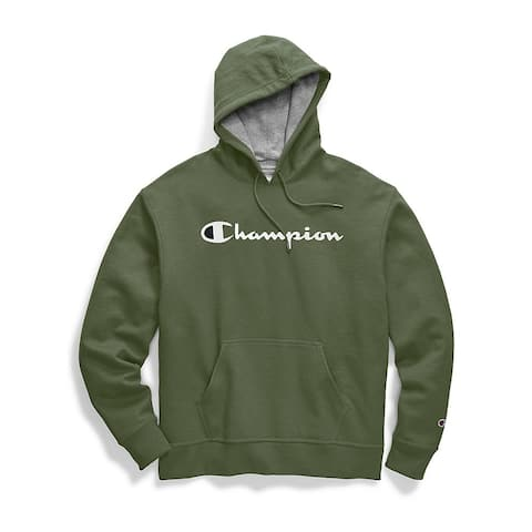 Champion Men's Powerblend Graphic Hoodie