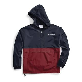 Colorblocked Packable Jacket