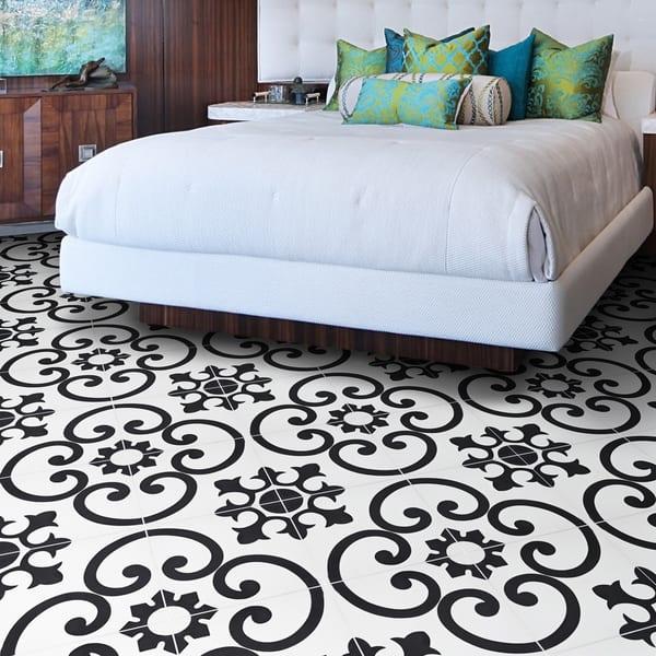 Handmade Orika In White Tile Pack