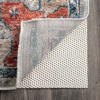 nuLOOM Grid Deluxe Plush Non-slip Rug Pad - Off-White