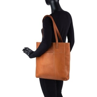 Le Donne Leather Spruce Shopper Tote