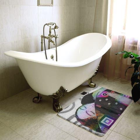 Klimt Embrace Bath Mat