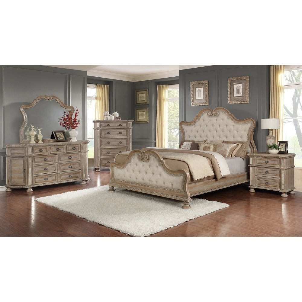 Shop Best Quality Furniture Catalina 6 Piece Bedroom Set