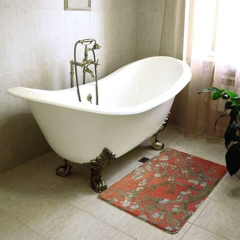 Van Gogh Almond Blossom Bath Mat