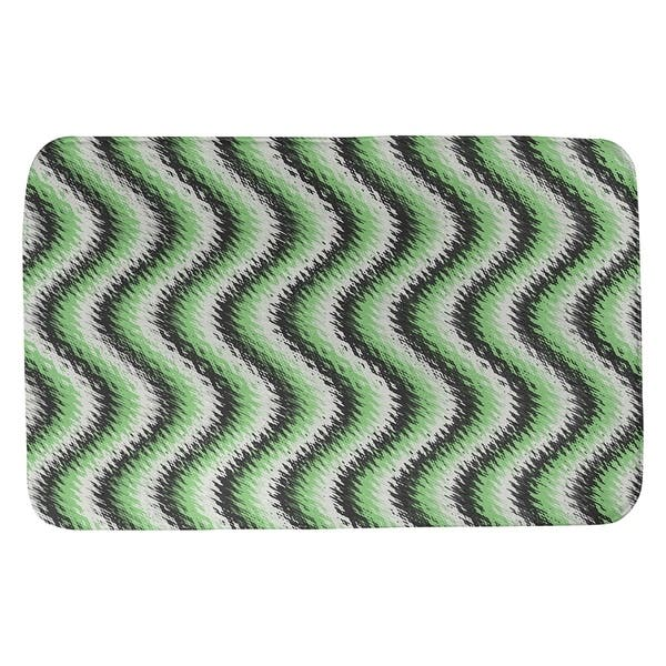 Wavy Stripes Bath Mat Overstock 28426455