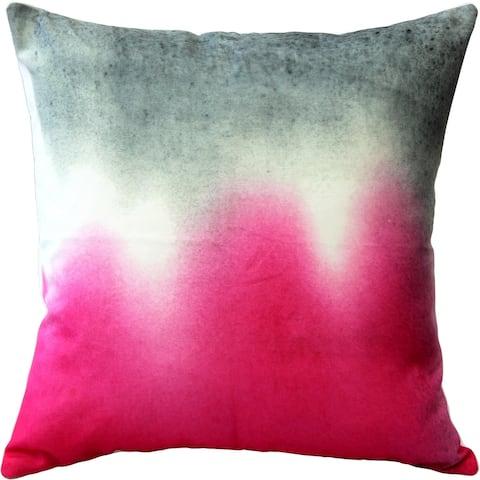 Pillow Decor - Karalina Pink Earth 20x20 Throw Pillow