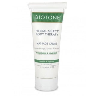 Biotone Herbal Select Body Therapy Massage Creme 7-ounce