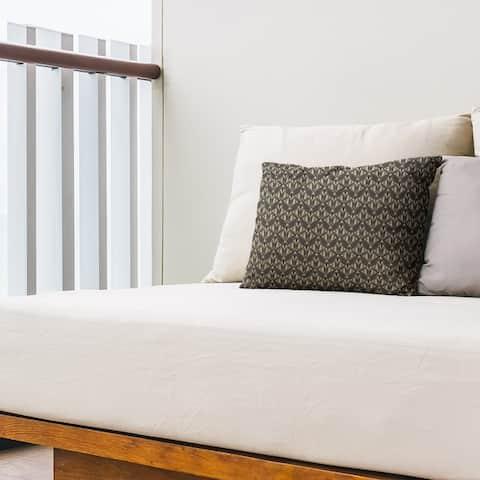 Classic Art Deco Outdoor Lumbar Pillow