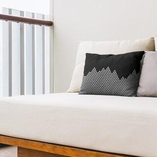 Mountain Pattern Outdoor Lumbar Pillow