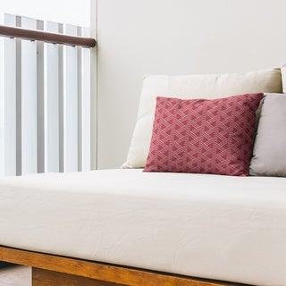 Classic Zig Zag Pattern Outdoor Lumbar Pillow