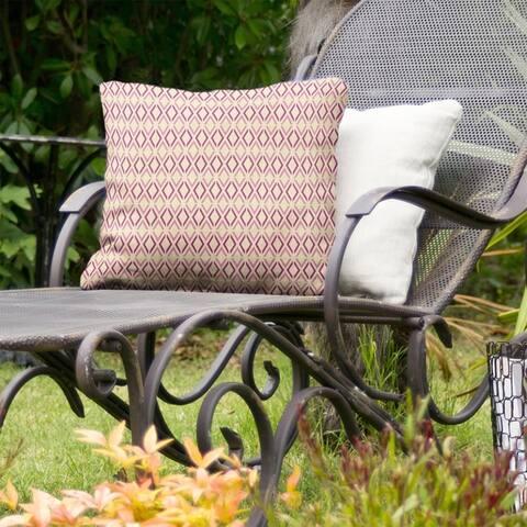 Full Color Arrow Diamonds Indoor/Outdoor Pillow
