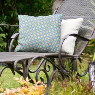 Rainbow Scales Indoor/Outdoor Pillow