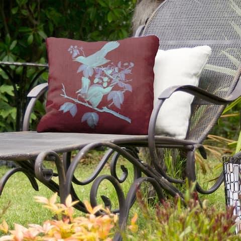 Cat Bird Indoor/Outdoor Pillow