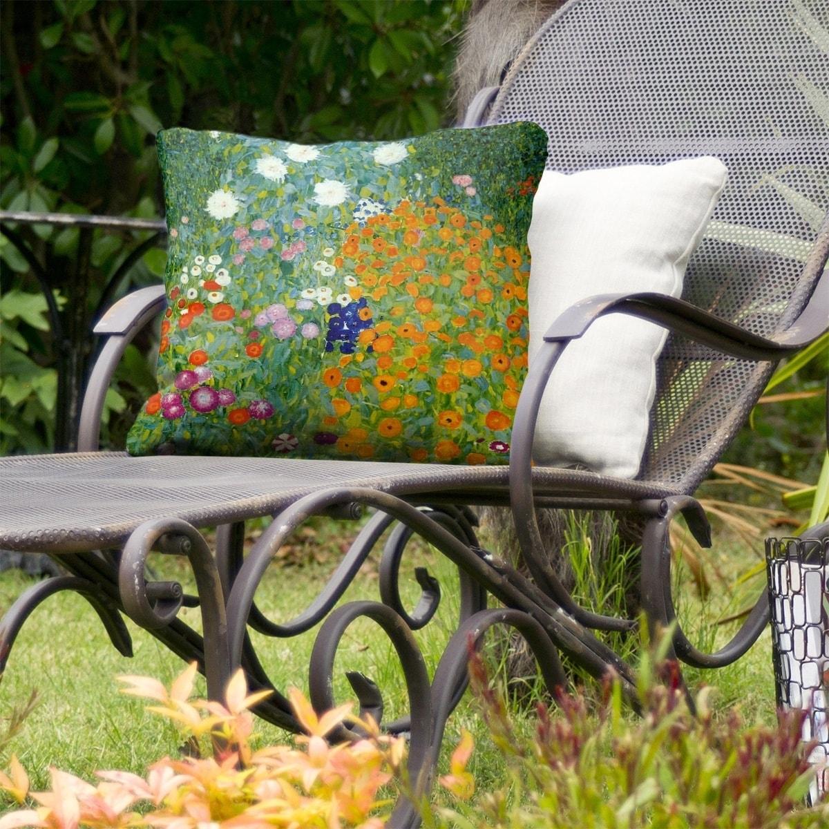 Blumengarten Indoor Outdoor Pillow On Sale Overstock 28429783