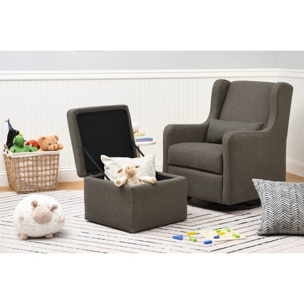 Astonishing Shop Carters By Davinci Adrian Swivel Glider With Storage Pabps2019 Chair Design Images Pabps2019Com