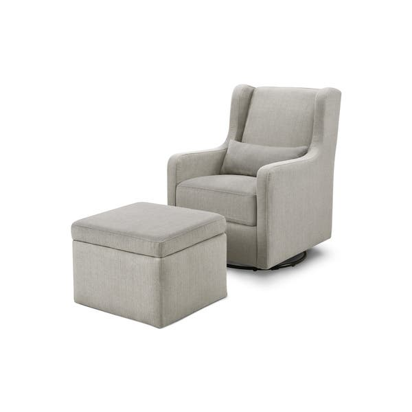 Fabulous Shop Carters By Davinci Adrian Swivel Glider With Storage Pabps2019 Chair Design Images Pabps2019Com