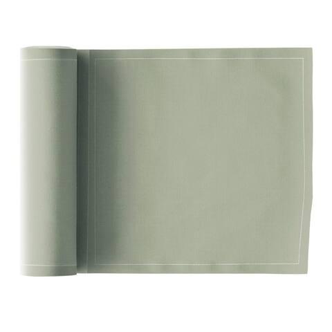 MY DRAP Linen Napkins, Water Green, 20 Units