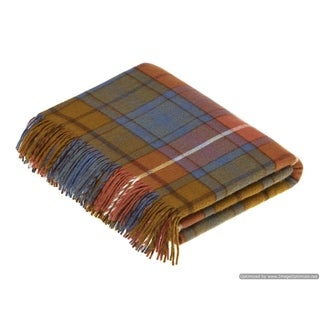 Link to Bronte Moon - Antique Buchanan Tartan / Plaid, Merino Lambswool Throw Similar Items in Blankets & Throws