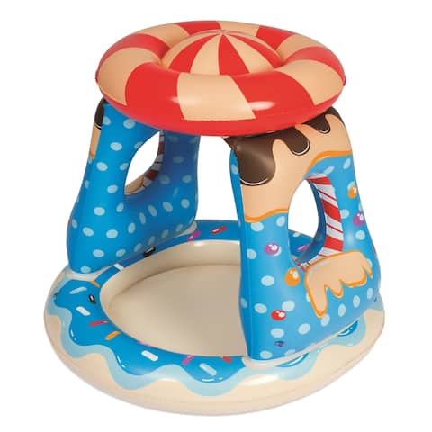 "H2OGO 36"" x 36"" x 35"" Candyville Playtime Pool"