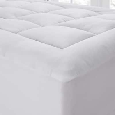 The Mega-thick Pillow Top Mattress Pad Topper