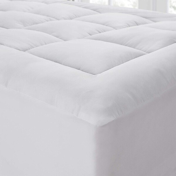 The Mega-Thick Mattress Pad Topper Pillow-Top. Opens flyout.