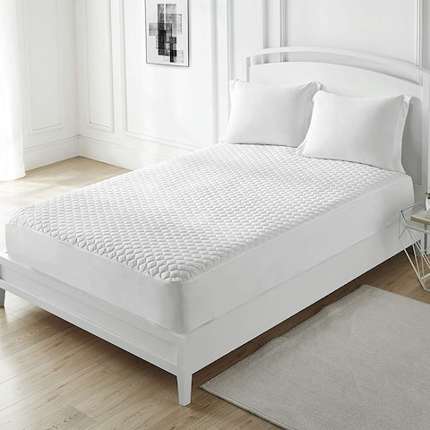 100% Cotton-Top Mattress Pad