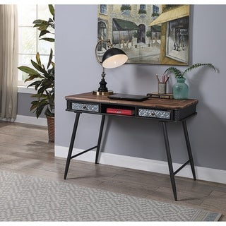 Link to Forester Collection Desk with 2 Drawers Similar Items in Computer Desks