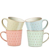 Denby Heritage Set of 4 Assorted Cascade Mugs