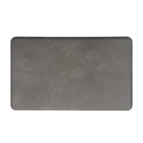 Premium Quality Leather Grain Anti-Fatigue Comfort Mat 18 x 30-inch - 18x30