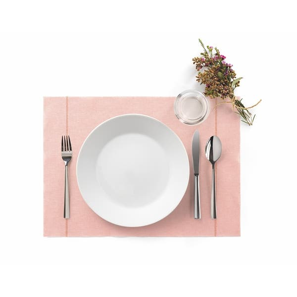 Non Slip Pink Dining Table Placemats
