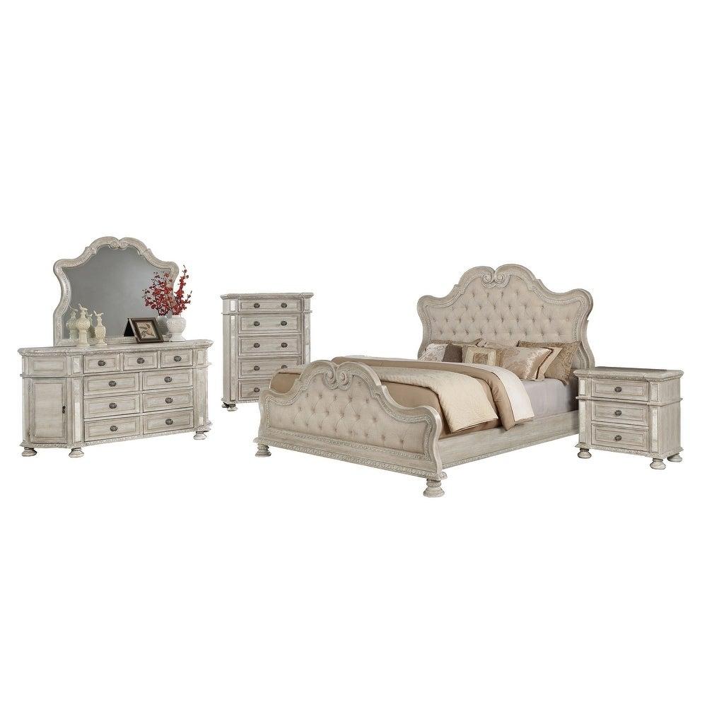 Shop Best Quality Furniture Stella 5 Piece Bedroom Set Overstock