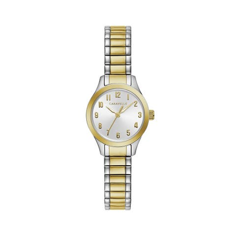 Caravelle by Bulova Womens 45L177 Two-Tone Stainless Expansion Watch