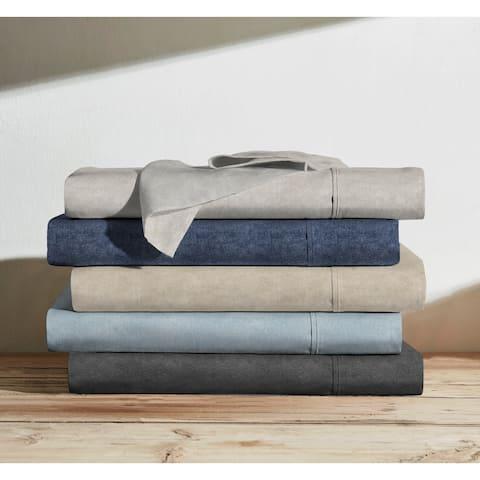100% Organic Cotton Heather Printed Sheets