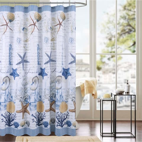 Porch & Den Falling Waters 13-piece Shower Curtain Set