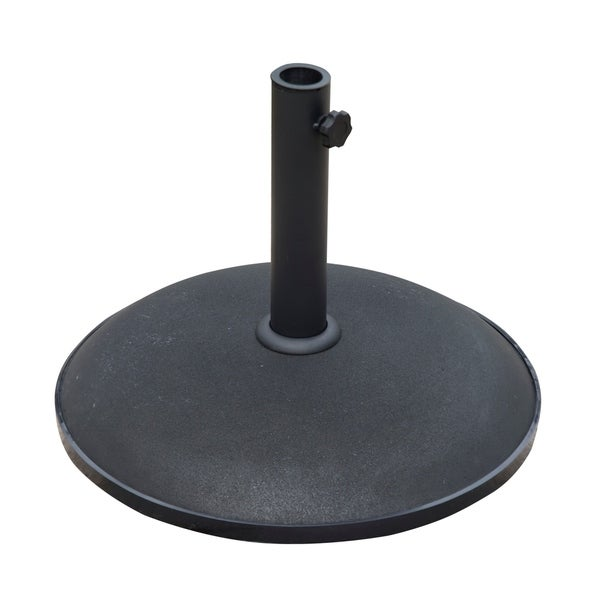 """Outsunny 20"""" Round 55 lb Decorative Patio Umbrella Stand Base (As Is Item)"""