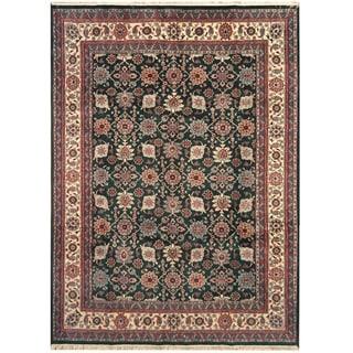 Handmade One-of-a-Kind Kashan Wool Rug (India) - 9' x 12'